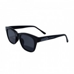 "seedleSs サングラス ""SQUARE FLAT SUNGLASSES"" Blk/Navy"