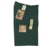 "DICKIES ""13""MULTI-USE POCKET WORK SHORTS"" (Green)"