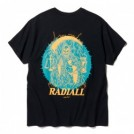 "★30%OFF★ RADIALL Tシャツ ""HOUR GLASS CREW NECK T-SHIRT S/S"" (Black)"