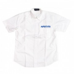 "★30%OFF★ AFFECTER S/Sシャツ ""SMOKE SHIRTS"" (White)"