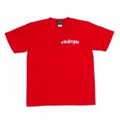 "redrope Tシャツ ""LOGO TEE"" (Red/White)"