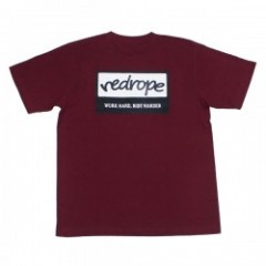 "redrope Tシャツ ""WHRH TEE"" (Burgundy)"