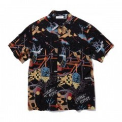 "★30%OFF★ RADIALL ""COSMIC GIPSY O.C. SHIRT S/S"" (Black)"