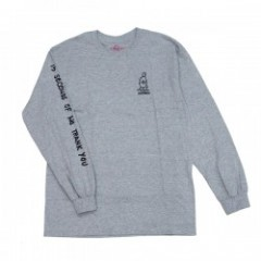 "KROOKED L/STシャツ ""NO THANK YOU L/S TEE"" (A.Heather)"