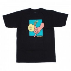 "KROOKED Tシャツ ""TOWKER TEE"" (Black)"