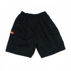 "COOKMAN ショーツ ""CHEF SHORT CARGO PANTS"" (Black)"