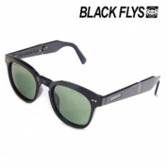 "BLACKFLYS サングラス ""FLY GIBSON FOLD"" (Black / Green)"