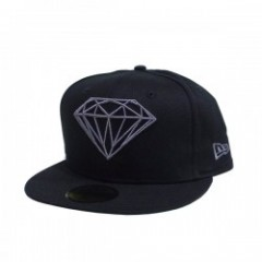 "DIAMOND SUPPLY CO. ""BRILLIANT FITTED CAP"" (Black)"
