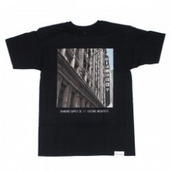 "DIAMOND SUPPLY CO. ""CULTURE ARCGITECTS TEE"" (Blk)"