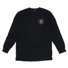 "SANTACRUZ L/STシャツ ""SCREAMING HAND L/S TEE"" (Black)"