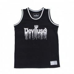 "Deviluse ""LOGO BLOOD BASKETBALL TANKTOP"" (Black)"