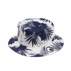 "seedleSs ハット ""REVERSIBLE FLOWER BUCKET HAT"" Gr/Nv"