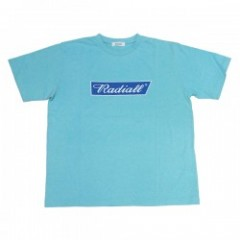 "RADIALL Tシャツ ""FLAGS CREW NECK TEE"" (Turquoise Blue"