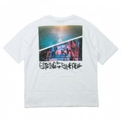"AFFECTER Tシャツ ""AFF x HDW BIG TEE"" (White)"