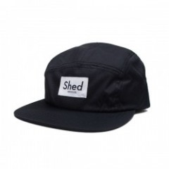 "Shed キャップ ""authentic ripstop camper"" (Black)"