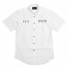 "AFFECTER S/Sシャツ ""CROSS UP SHIRTS"" (White)"
