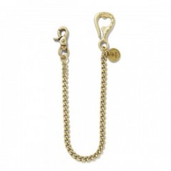 "ANIMALIA ""BOTTOLE OPENER-WALLET CHAIN"" (Brass)"