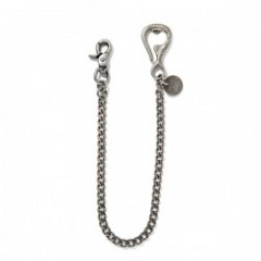 "ANIMALIA ""BOTTOLE OPENER-WALLET CHAIN"" (Silver)"