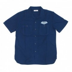 "★30%OFF★ RADIALL S/Sシャツ ""SUPPLY SHIRT S/S"" (Navy)"