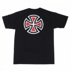 "INDEPENDENT Tシャツ ""BAR/CROSS TEE"" (Black)"