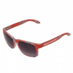"INDEPENDENT サングラス ""CROSS/BAR SUNGLASSES'"" (Red)"