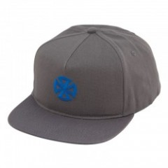 "INDEPENDENT ""DIRECTIONAL CROSS SNAPBACK CAP"" Gray"