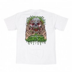 "SANTACRUZ Tシャツ ""FACE RIPPER TEE"" (White)"