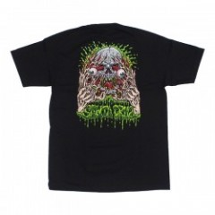 "SANTACRUZ Tシャツ ""FACE RIPPER TEE"" (Black)"