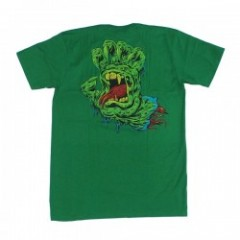 "SANTACRUZ Tシャツ ""SKINNER HAND TEE"" (Kelly Green)"