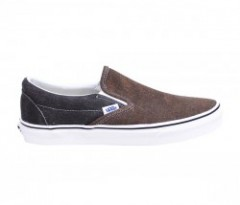 "VANS ""CLASSIC SLIP-ON"" (WASHED 2 TONE) Black/Deser"