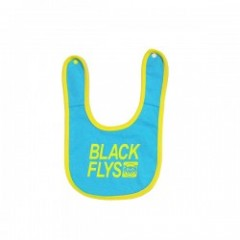 "BLACKFLYS ""BOX STANDARD TRADE BABY BIB"" (Aqua)"