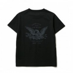 "CRIMIE Tシャツ ""EAGLE CREW POCKET T-SHIRT"" (Black)"