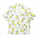 "★40%OFF★ RADIALL S/Sシャツ ""FLAMINGO O.C. SHIRT S/S"" (White)"