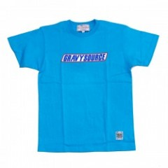 "★40%OFF★ GRAVY SOURCE Tシャツ ""SNACK TEE"" (Blue)"