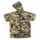 "seedleSs S/Sシャツ ""SD ZIP UP HOODY SHIRTS 2019"" (Camo)"