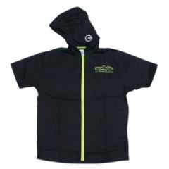 "seedleSs ""SD ZIP UP HOODY SHIRTS REVISED"" (Blk/Grn"