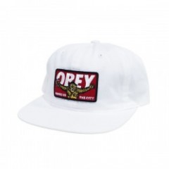 "OBEY キャップ ""KINGS OF THE CITY CAP"" (White)"