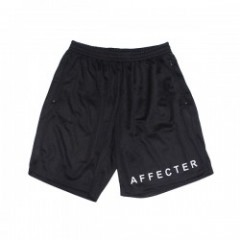 "AFFECTER ショーツ ""BEFORE MESH SHORTS"" (Black)"