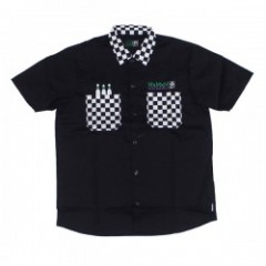 "MxMxM ""MxMxM CHECKERS WORK SHIRT "" (Black)"