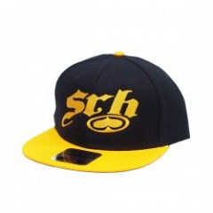 "SRH キャップ ""SNAKE SNAPBACK CAP"" (Black/Yellow)"