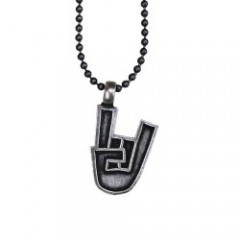 "seedleSs ネックレス ""ROCK IT PENDANT"" (Silver)"