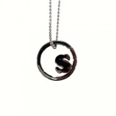 "seedleSs ネックレス ""METAL S-DOT NECKLACE"" (Silver)"