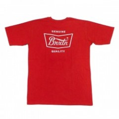 "BRIXTON Tシャツ ""STITH S/S STANDARD TEE"" (Cayenne)"