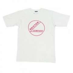 "BRIXTON Tシャツ ""SPECK S/S STANDARD TEE"" (Off White)"