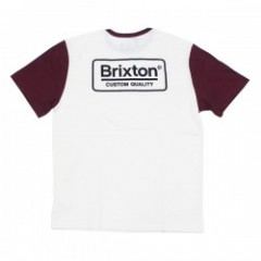 "BRIXTON Tシャツ ""PALMER S/S KNIT"" (Off White)"