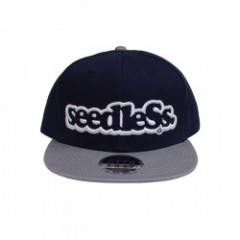"seedleSs ""SD COLOR COMBINATION SNAPBACK CAP"" (Gray"