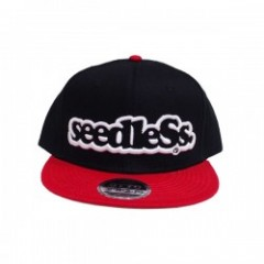 "seedleSs ""SD COLOR COMBINATION SNAPBACK CAP"" (Red/"