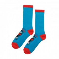 "SANTACRUZ ソックス ""SCREAMING SOCKS"" (Blue)"
