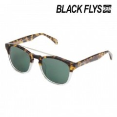 "BLACKFLYS サングラス ""FLY VENTURA"" Havana Crystal/Green"