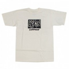 "BRIXTON Tシャツ ""FILLER S/S STANDARD TEE"" (Off White)"
